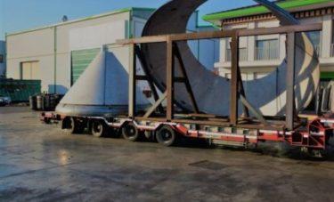trasporto tommasin fondi conici da 5,5 mt